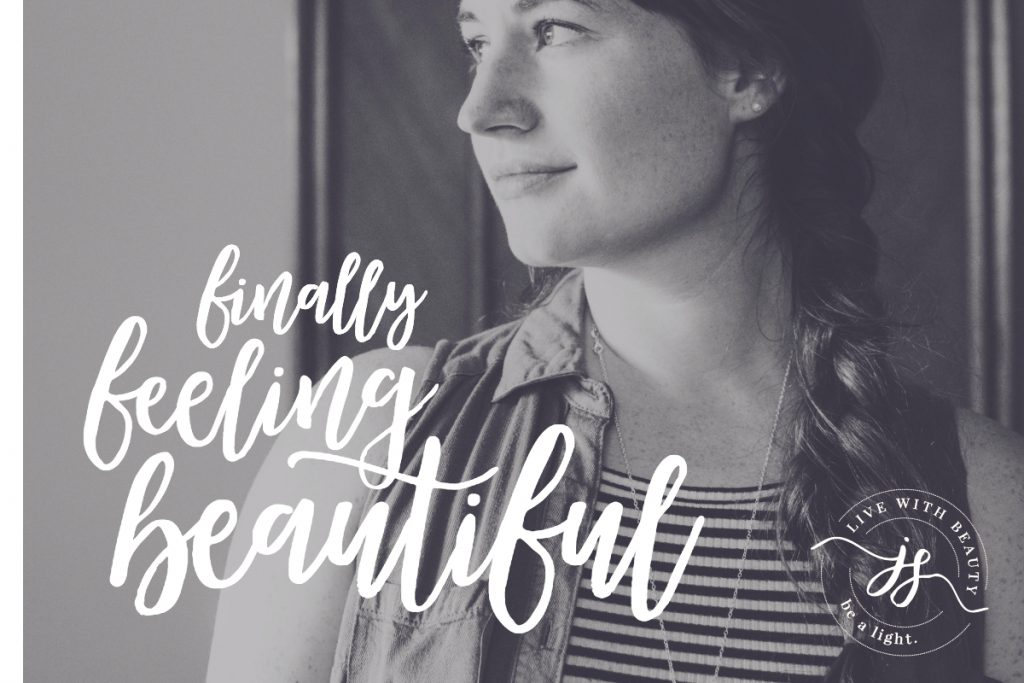 Finally Feeling Beautiful - JillSimons.com